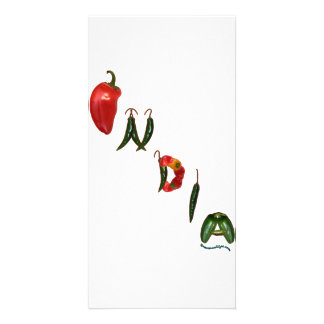 India Chili Peppers Picture Card