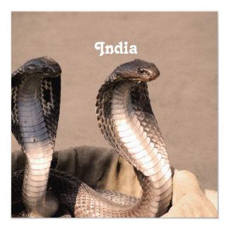 India Cobra Personalized Invites