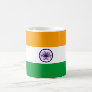 India country long flag nation symbol republic coffee mug