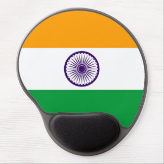 India country long flag nation symbol republic gel mouse pad