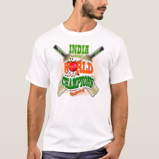 India Cricket World Cup Champions 2011 T Shirt