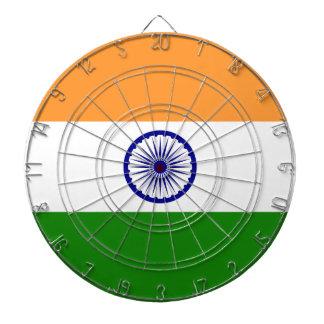 India Flag Dartboard