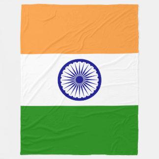 India Flag Fleece Blanket