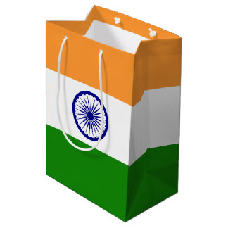 India Flag Medium Gift Bag
