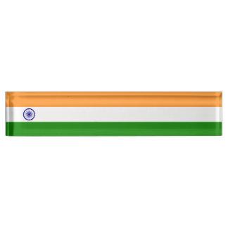 India Flag Name Plate