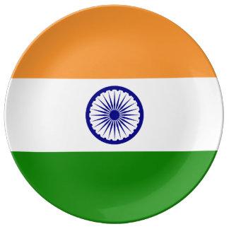 India Flag Plate
