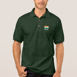 India flag polo shirt by Lykens-Luzesky T-shirts