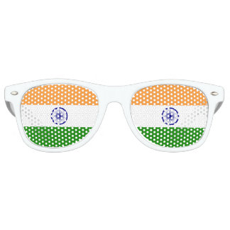 India Flag Retro Sunglasses