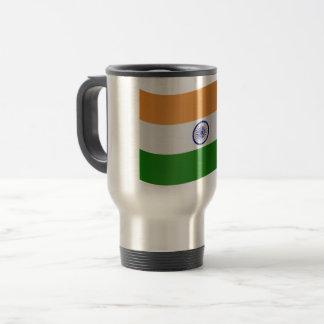 India Flag Travel Mug