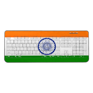 India Flag Wireless Keyboard