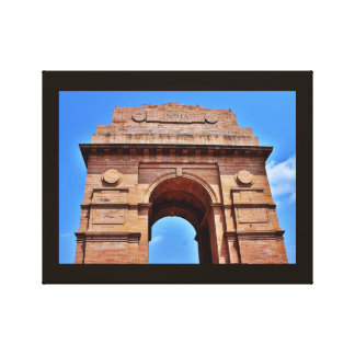 India Gate Canvas Print