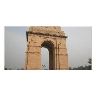 India Gate Delhi Customized Photo Card