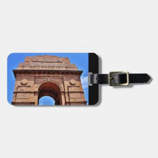 India Gate Luggage Tag