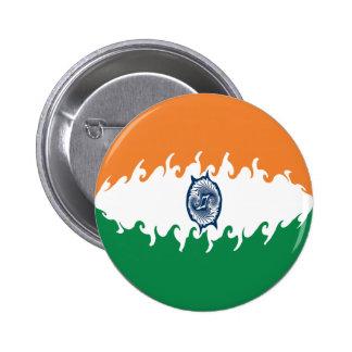 India Gnarly Flag Pins