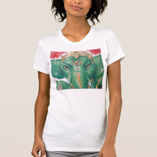 india-god-ganeshagreen T-Shirt