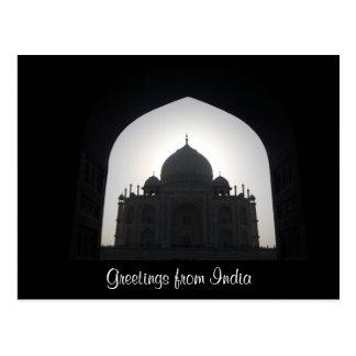 india greetings postcard