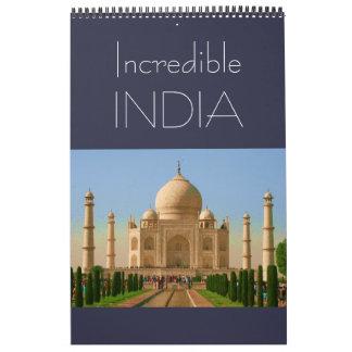 india incredible calendar