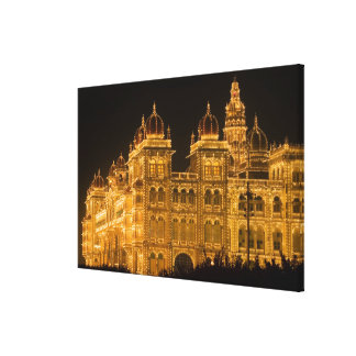 INDIA, Karnataka, Mysore : Majaraja's Palace (b. Canvas Print