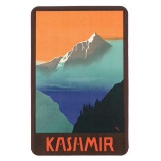 India (Kashmir) Travel Poster magnet