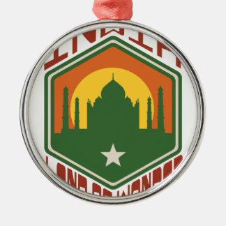India Land Of Wonder Metal Ornament