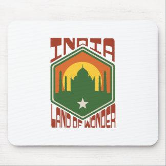 India Land Of Wonder Mouse Pad