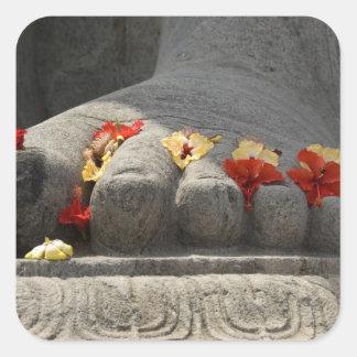 India, Mangalore, Karkala. Jains religion Square Sticker