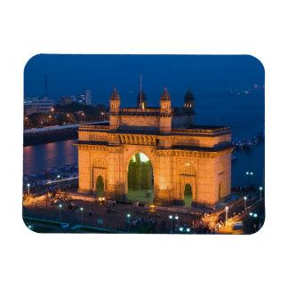 INDIA, Mumbai (Bombay): Gateway of India / Rectangular Photo Magnet