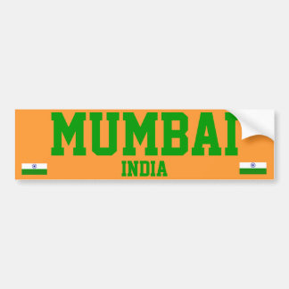 India* (Mumbai) Bumper Sticker