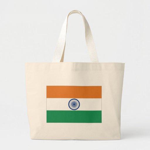 India National Flag Canvas Bag