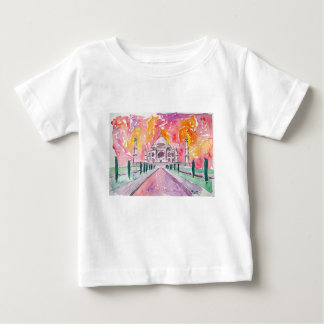 India palace at sunset baby T-Shirt