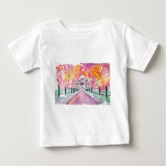 India palace at sunset baby T-Shirt