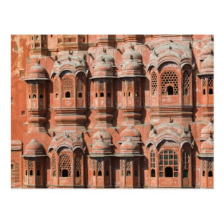 INDIA, Rajasthan, Jaipur: Hawa Mahal (Palace of Postcard