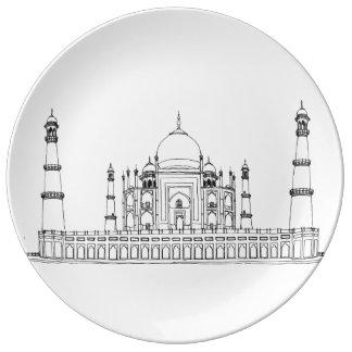 India - Taj Mahal Plate