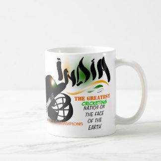 India The Greatest Cricket Nation on Earth  Mug