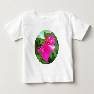 India travel flower bougainvillea floral emblem baby T-Shirt