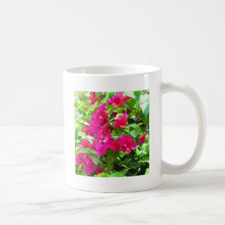 India travel flower bougainvillea floral emblem coffee mug