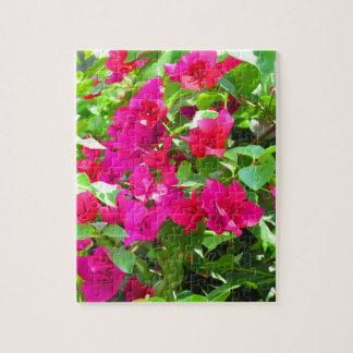 India travel flower bougainvillea floral emblem jigsaw puzzle
