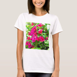 India travel flower bougainvillea floral emblem T-Shirt