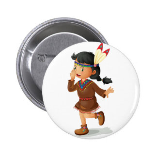 Indian 6 Cm Round Badge