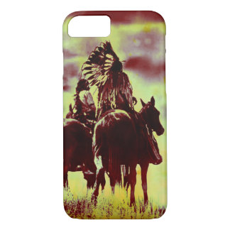 Indian and Chief at Rest iPhone 7 Case