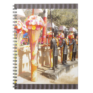 Indian art n crafts show surajkund mela newdelhi notebook