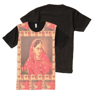 Indian Bollywood Diva Actress Fashion Girls show All-Over Print T-Shirt