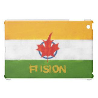 INDIAN CANADIAN FUSION FLAG iPad MINI CASES