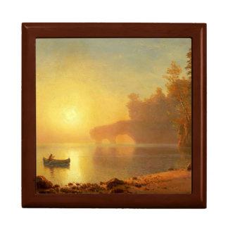 Indian Canoe Golden Oak Gift Box
