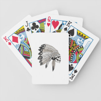 Indian Chef Bicycle Playing Cards