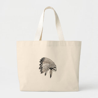 Indian Chef Large Tote Bag