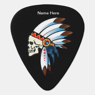 Indian Chief Custom Guitar Pick