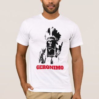 Indian Chief Geronimo T-Shirt