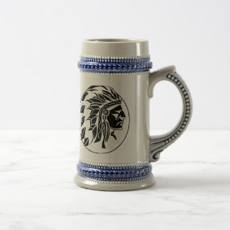 Indian Chief Head Beer Steins