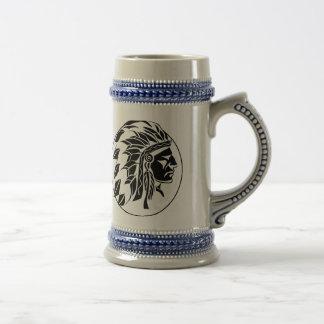 Indian Chief Head Mugs